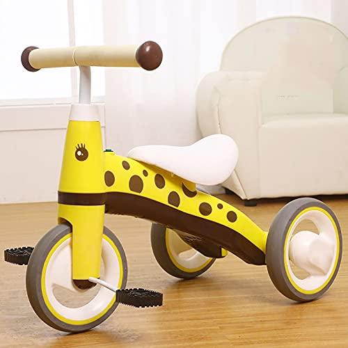 LYXQ Bicicletas para Niños, Cochecitos De Bebé Aptos para Niños De 2, 3 Y 4 Años, Bicicletas De Pedales para Niños Y Niñas, Triciclos para Bebés, Son Regalos Originales Ideales para Bebés Y Niños.