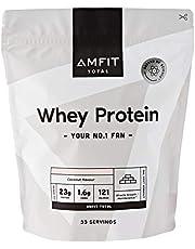 Marca Amazon - Amfit Nutrition Proteína de Suero de Leche en Polvo (anteriormente PBN)
