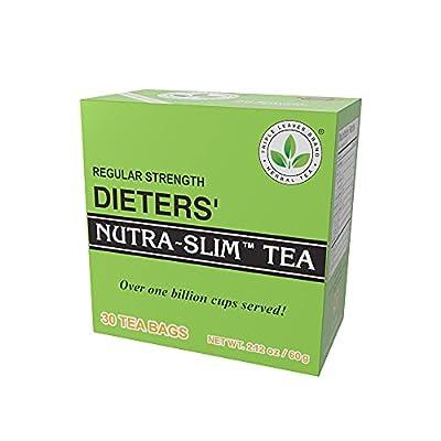 Regular Strength Dieters' Nature-Slim Tea Triple Leaves Brand - 30 Tea Bags from Fantastictea