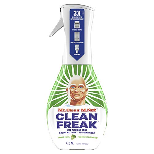 Mr. Clean, Clean Freak Deep Cleaning Mist Multi-Surface Spray, Gain Original Scent Starter Kit, 1Count, 16 Fluid oz