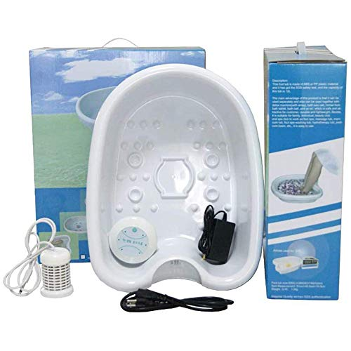 Gymqian Detox Hine Cell Hine, All in One Detox Foot Massage Bath Hine Cell Cleanse, Cell Detoxifying Instrument for Stress Relief, Help Sleep, Home Use Exquisite Technique/with Ba