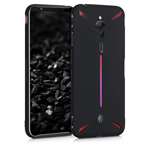 kwmobile Hülle kompatibel mit ZTE Nubia Red Magic 3 / 3s - Handyhülle - Handy Hülle in Schwarz matt