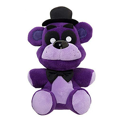 Purple Freddy Plush 7 Inch, FNAF Plushies, Five Nights Freddy's Plush