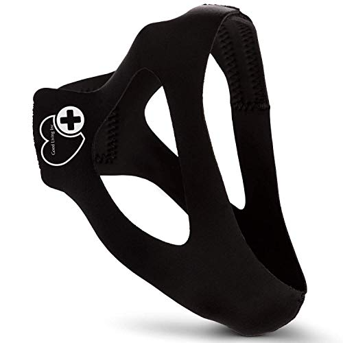 Good Living Inc Anti Snoring Chin Strap and CPAP Chin Strap – Advanced Triangle Design Snoring...