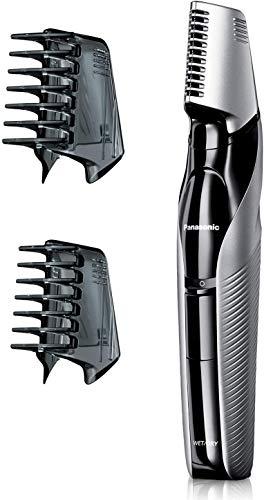 Panasonic Body-Trimmer ER-GK60 mit 3 Aufsätzen, Elektro-Rasierer für Herren, hautschonende Nass- und Trockenrasur, Haarschneider für Kopf & Körper