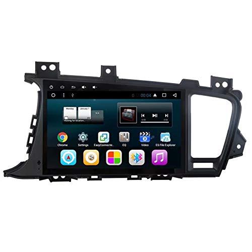 TOPNAVI 9 Pouces Android 7.1 Quad Core pour Kia K5 2011 2012 2013 2014 2015 Radio de Voiture Stéréo GPS Navigation avec 2 Go de RAM 32 Go ROM Quad Core WiFi 3G RDS Lien Miroir