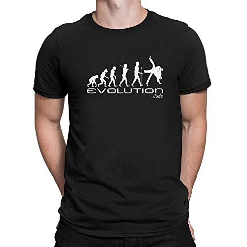 Evolution of judo Mens Camiseta Para Hombre martial art combat sport funny unique gift present t s...
