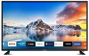 DYON Smart 43 XT 108 cm (43 Zoll) Fernseher (Full-HD Smart TV, HD Triple Tuner (DVB-C/-S2/-T2), Prime Video, Netflix & HbbTV) [Modelljahr 2020]