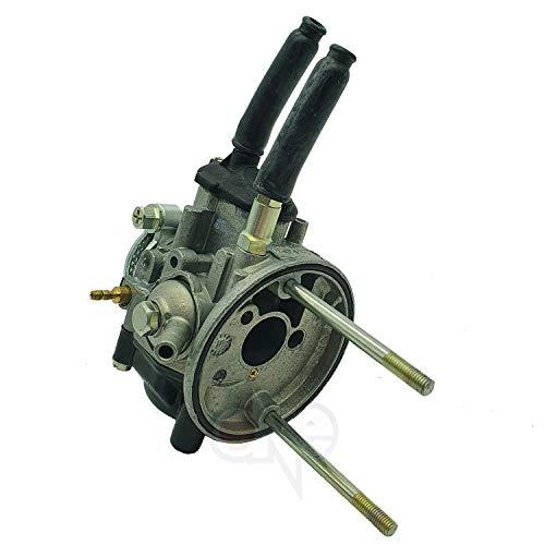one by Camamoto carburatore dellorto (cod 77110223 PHBG 19 19 F (905) attacco rigido con flangia compatibile con piaggio ape 50-75-100-125-130cc)