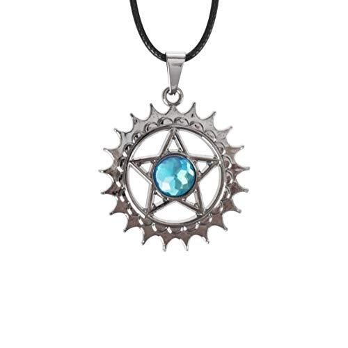 CoolChange Halskette mit Zeichen des Paktes von Ciel und Sebastian für Black Butler Fans