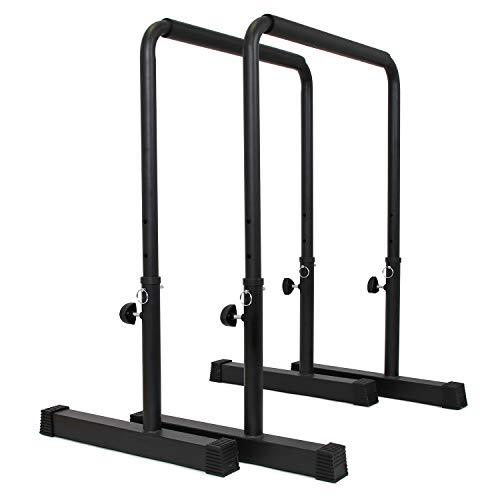 POWER GUIDANCE Barras Paralelas para Entrenamiento Ajustable para Calistenia, Gimnasia, Fitness
