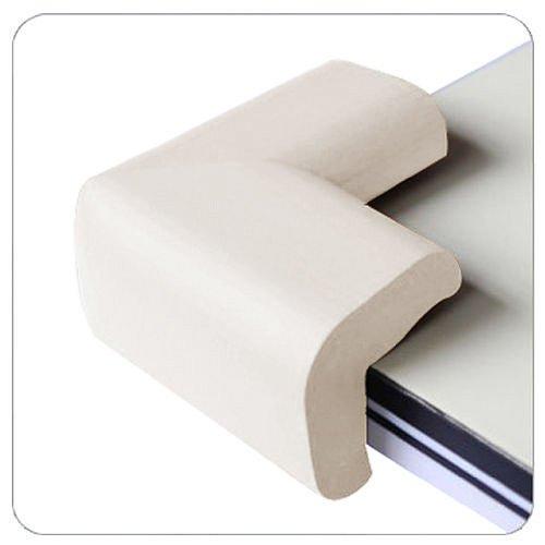 Chinkyboo Eckenschutz für Tische, 4 Stück, Weiß