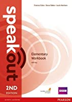 Speakout (2E) Elementary Workbook with Answer Key