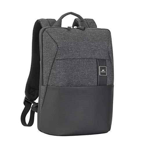 RivaHülle® 8825 33,8 cm (13,3 Zoll) Rucksack schwarz – Notebooktaschen (Rucksack, 33,8 cm (13,3 Zoll), 605 g, schwarz)