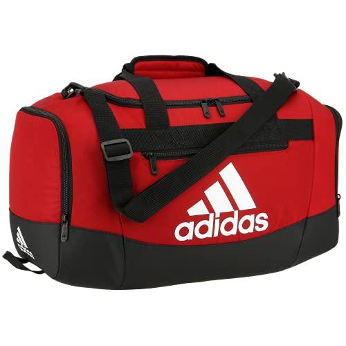 adidas Defender 4 - Bolsa de Deporte (tamaño pequeño), Color Rojo/Equipo Power Rojo, tamaño Talla única