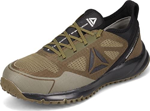 Reebok Work Men's All Terrain Safety Toe Trail Running Work Shoe Industrial, Sage Green, 10