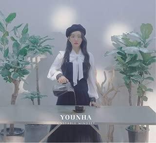 YOUNHA 5TH MINI ALBUM - UNSTABLE MINDSET / ユンナ ミニアルバム フィーチャリング RM...