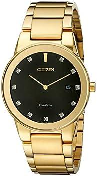 Citizen Axiom Eco-Drive Black Dial Men's Watch