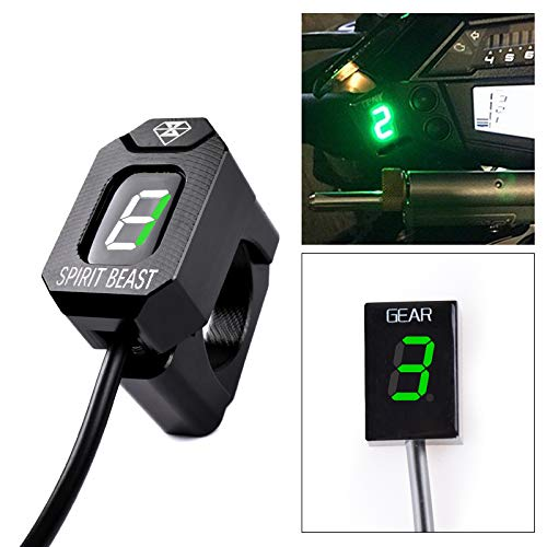 Motorcycle Gear Indicator LED 1-6 Level Display Shift Light By KYN
