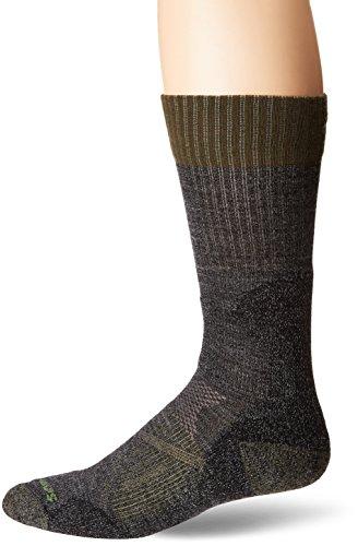 Smartwool Men's PhD Hunt Light Crew Socks (Black) Large