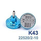 Precisetool ポジショナー・ロケーターK43 M22520 / 2 – 10 に則り 手動式圧着工具対応ロケータ