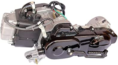 50cc 4-stroke GY6 Scooter Engine Auto w/CVT Transmission, Electric/Kick starter for 50cc GY6 & China made Scooters Taotao Thunder 50, ATM50-A1, CY50-A Coolster Taotao Roketa Kazuma Redcat Tank etc