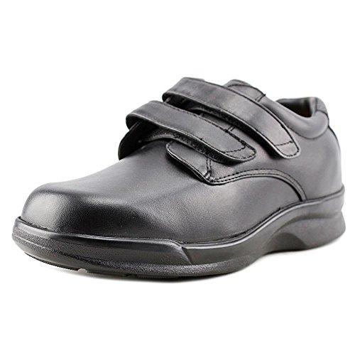 Apex Men's Ambulator Conform Double Strap Velcro Black Walking Shoes - Size 12 3E US