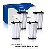 Poweka AEF150 Filtro para Aspiradora AEG Ergorapido CX7-2 HX6 para Todos los Modelos (4 Piezas)