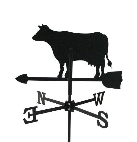 Wetterfahne Kuh klein 42,5 x 65 cm