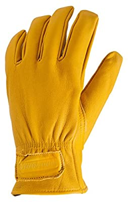 True Grip Premium Grain Deerskin Work Gloves
