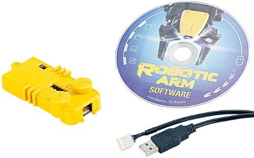 Playtastic Zubehör zu Roboterarm Bausatz: USB-Schnittstelle für Roboter-Arm NC-1424 (Roboterarm USB)