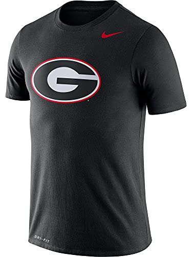 Nike Georgia Bulldogs Logo Dry Legend - Camiseta para hombre, color negro, XXL, Negro