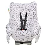 Niko Easy Wash Children's Car Seat Cover & Liner -Minky -Silver Star...