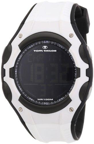 Tom Tailor Damen-Armbanduhr XL Digital Quarz Plastik 5410102