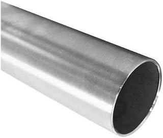 K240 L/änge 1200mm 120cm auf Zuschnitt Edelstahl Rundrohr V2A /Ø 60,3x2mm