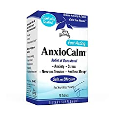 Anxious? Overwhelmed? Stressed?; AnxioCalm is clinically studied to quiet your nerves and relieve your occasional anxiety—without drowsiness; It provides relief when you need it, without drowsiness or mental fogginess Safe and Effective; An herbal-ba...