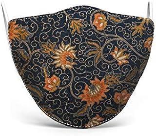 Mascherina in tessuto lavabile stampata, 100% Made in Tuscany, taglia donna, varie fantasie (Batik)