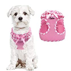 pink yorkie harness