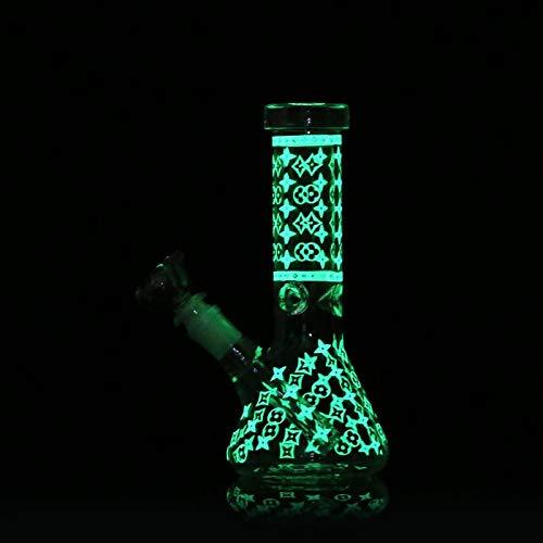 LZW Botella De Agua Manual con Tanque De Agua, Diseño De Cristal Hechos A Mano