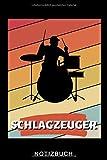 SCHLAGZEUGER NOTIZBUCH: A5 52 WOCHEN KALENDER für Schlagzeuger | Drumming | Schlagzeug lernen | Schlagzeugbuch für Erwachsene Kinder...