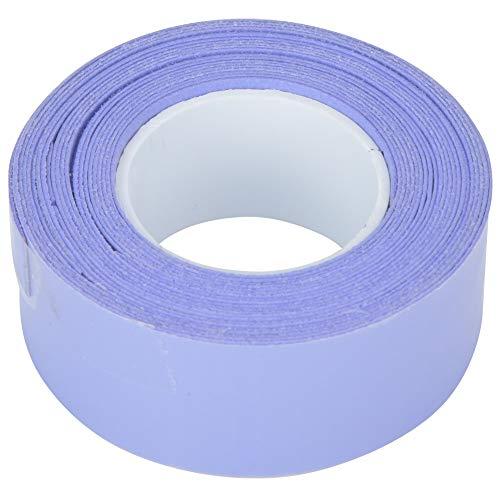 XiangXin Banda para Envolver Raquetas, Agarre Antideslizante para Mango de Raqueta, Accesorio de absorción de Golpes Duradero de PU para Raquetas de bádminton, Raquetas de Tenis, caña de(Purple)