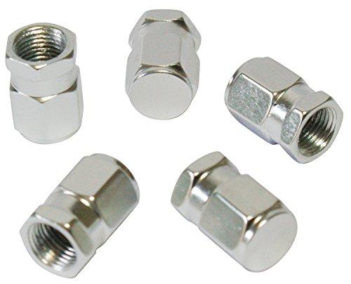 CORA 000120648 5 Pezzi Tappi Valvola Universali Alluminio