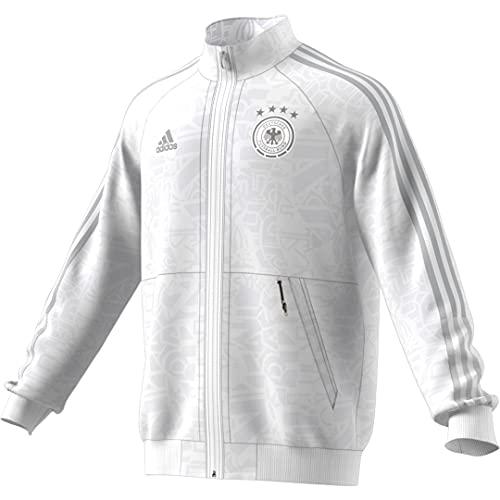 adidas Herren DFB Uniforia Anthem Jacket Jacke, White/dshgry, L