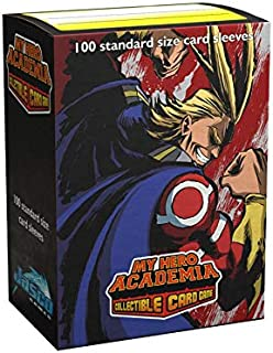 Arcane Tinmen Dragon Shield Sleeves - Matte Art My Hero Academia All Might Flex 100 CT – MGT Card Sleeves are Smooth & Tou...