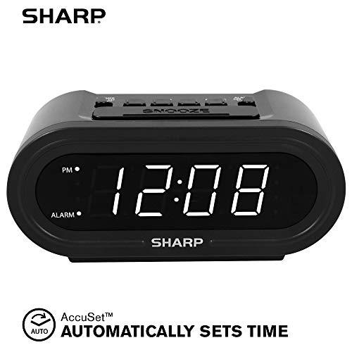 SHARP Digital Alarm with AccuSet -...