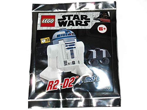 Blue Ocean LEGO Star Wars R2-D2 Minifigura + MSE-6 Foil Pack Set 912057 (empaquetado)