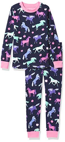Hatley Organic Cotton Long Sleeve Printed Pyjama Sets Juego de Pijama para Niñas