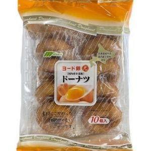 マルキン ヨード卵ドーナツ 10個×8入
