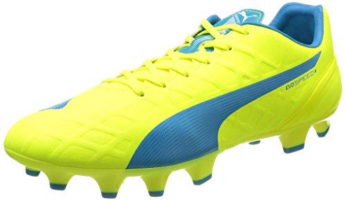 Puma Herren Evospeed 4.4 Fg Fußballschuhe, Gelb (Safety Yellow-Atomic Blue-White 04), 44