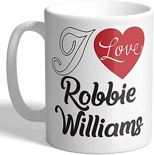 I Love Robbie Williams - Taza